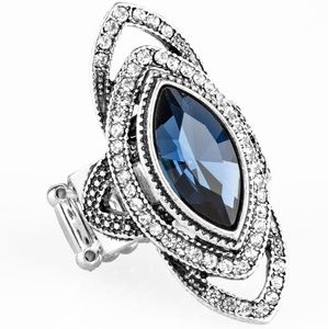 paparazzi Jewelry - Hot of the EMPRESS-Blue